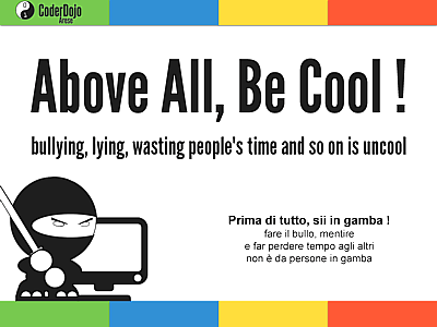 Above All, Be Cool !